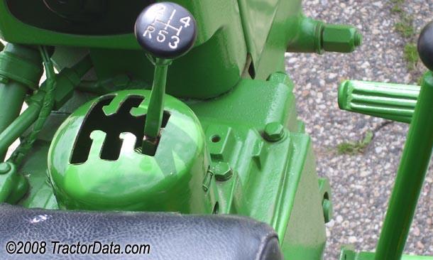 John Deere 420  transmission photo