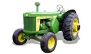 John Deere 820 tractor photo