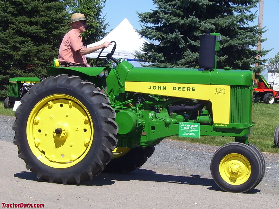 John Deere 630 with tricycle front end.
