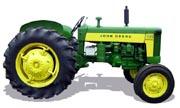 John Deere 435 tractor photo