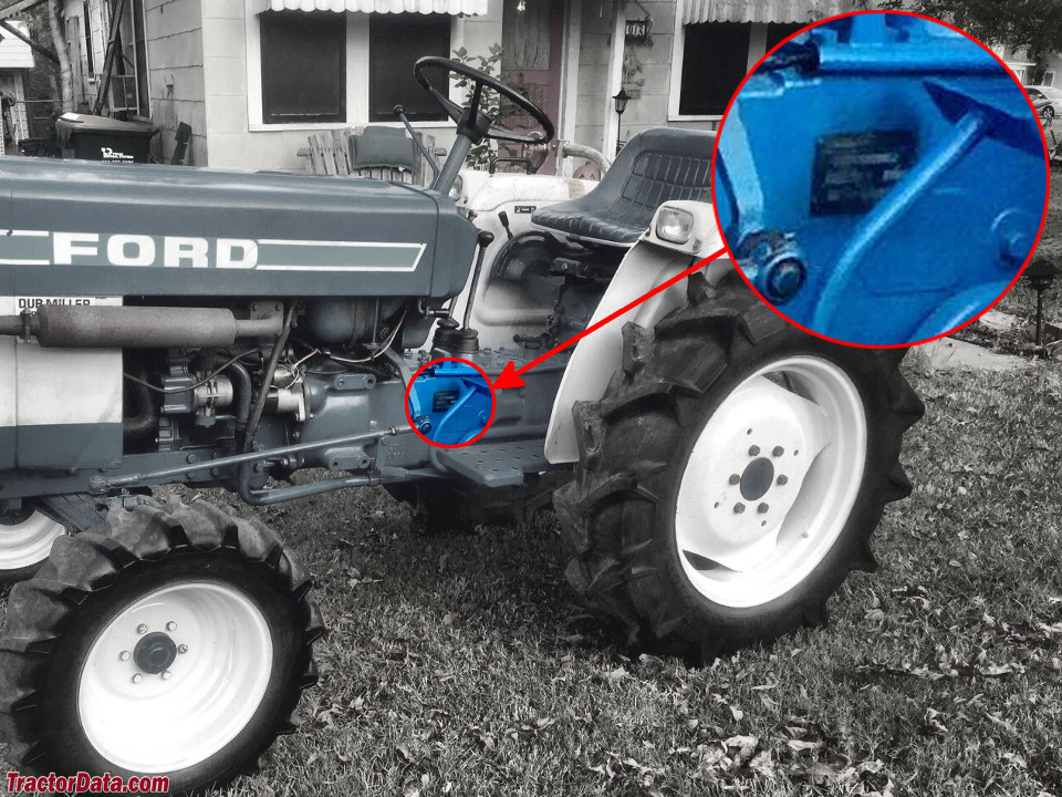 TractorData.com Ford 1910 tractor information