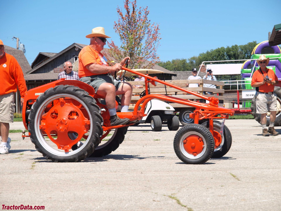 Allis-Chalmers model G tractor.