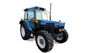 New Holland 6640 tractor photo