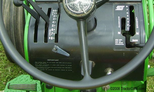John Deere 4020 Power Shift transmission photo