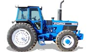 Ford 8830 tractor photo