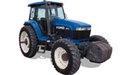 Ford 8870 tractor photo