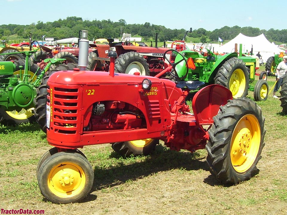 Massey-Harris 22 with tricycle front
