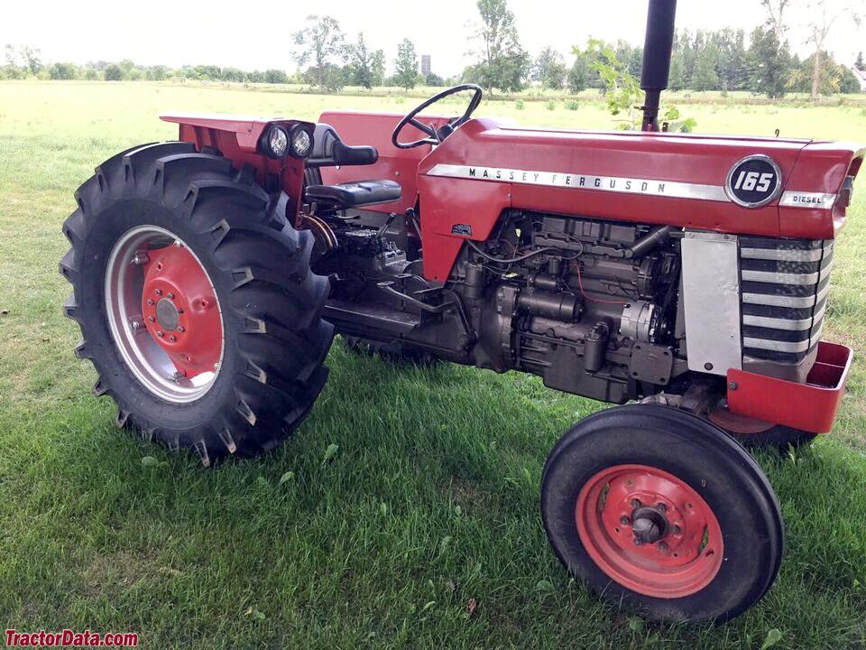 Wide front Massey Ferguson 165 diesel.