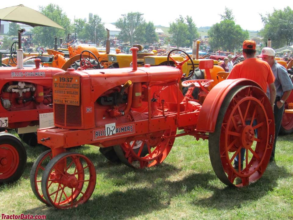 Unstyled Allis-Chalmers WC on steel.