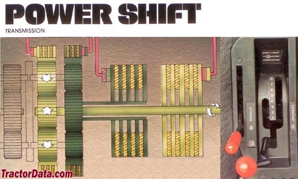 John Deere 4240 PowerShift transmission photo
