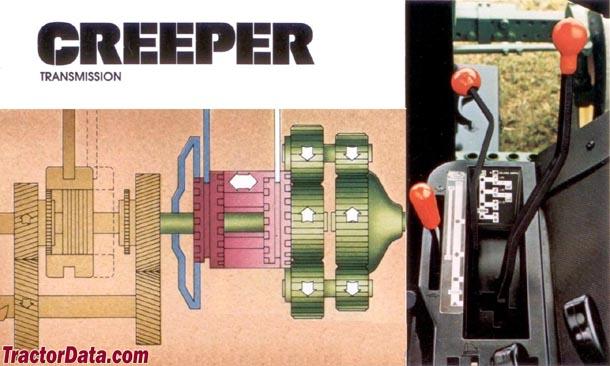 John Deere 4240 Syncro-Range Creeper transmission photo