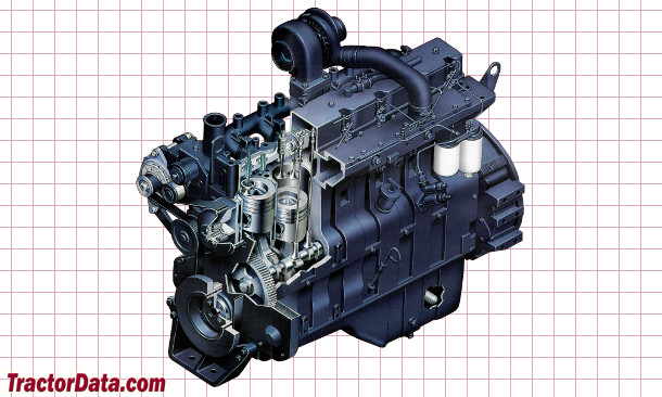 CaseIH 7130  engine photo