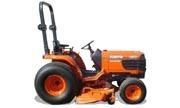 Kubota B2710 tractor photo