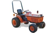 Kubota B1550 tractor photo