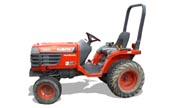 Kubota B1700 tractor photo