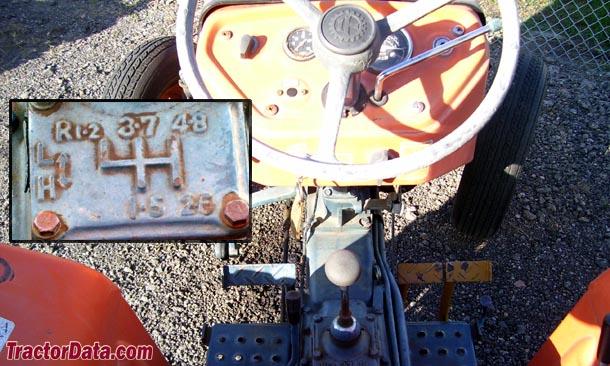 Kubota L260  transmission photo