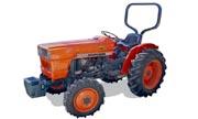 Kubota L295 tractor photo