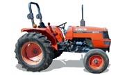 Kubota M4700 tractor photo