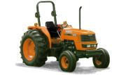 Kubota M6800 tractor photo