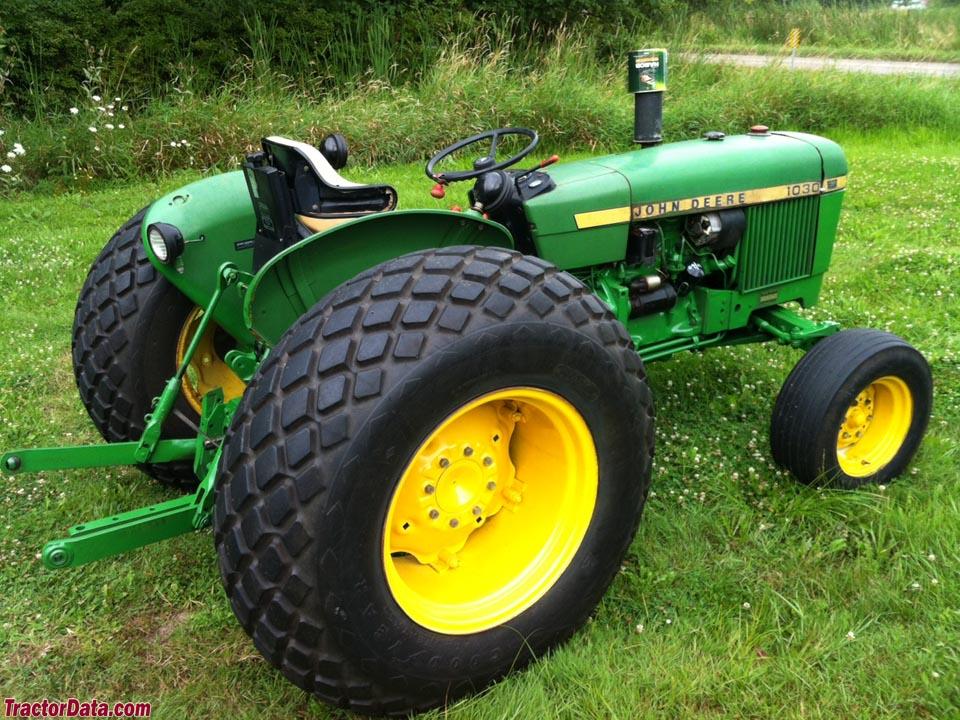 1979 John Deere model 1030 utility tractor.