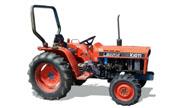 Kioti LB2204 tractor photo