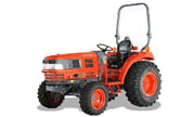 Kioti DK35 tractor photo