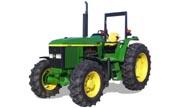 John Deere 6603 tractor photo
