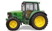 John Deere 6120 tractor photo