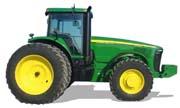 John Deere 8420 tractor photo