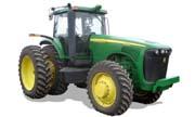 John Deere 8520 tractor photo