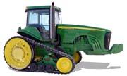John Deere 8220T tractor photo