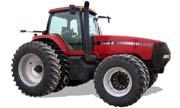 CaseIH MX285 Magnum tractor photo