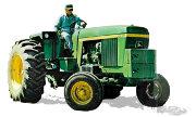 John Deere 4230 Low Profile tractor photo