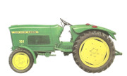 Lanz 100 tractor photo