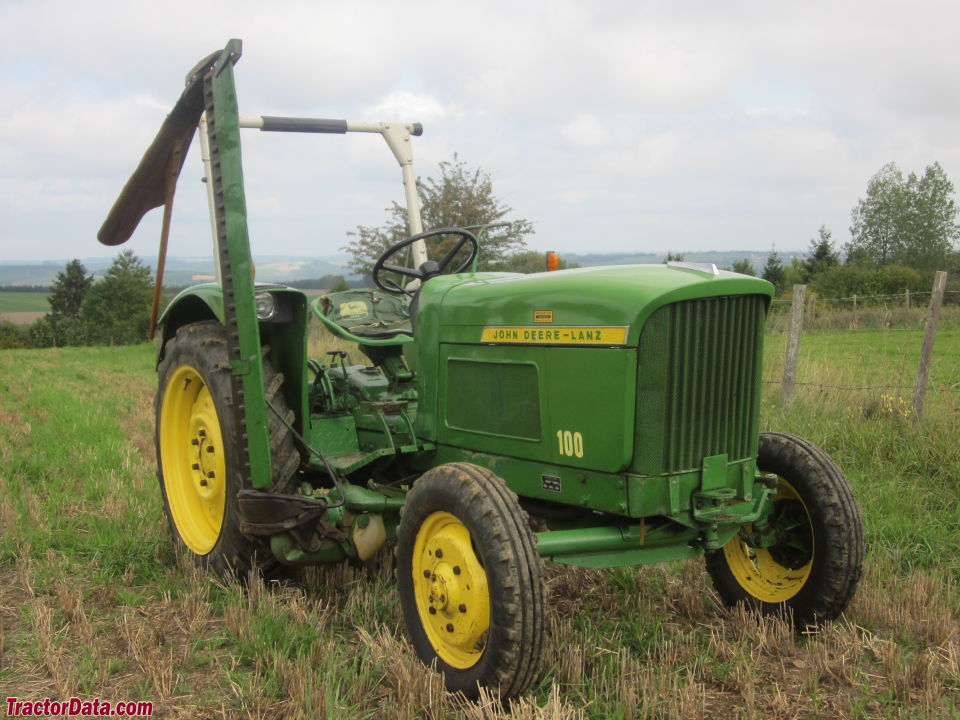 1964 John Deere - Lanz 100 with sickle mower.