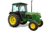 John Deere 1640 tractor photo