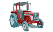 International Harvester 374 tractor photo