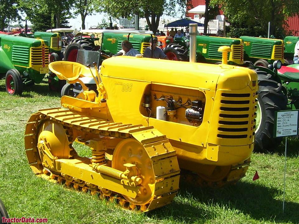 Gasoline Oliver OC-6 ag crawler.