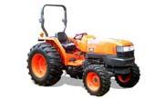 Kubota L4400 tractor photo