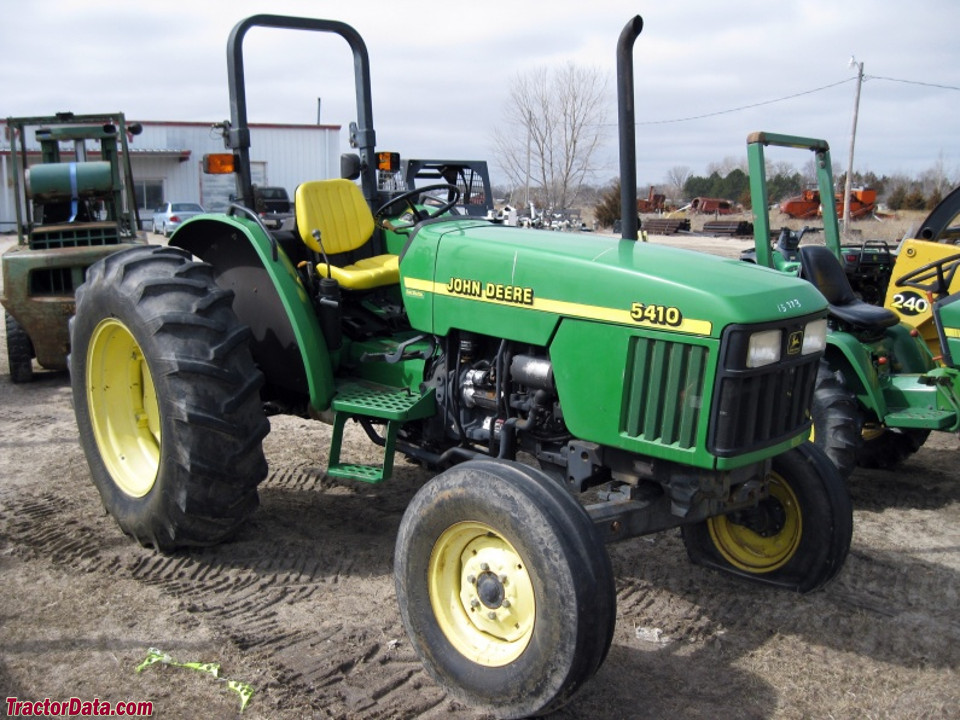 Two-wheel drive Deere 5410 with ROPS.