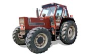 Fiat 1380 tractor photo