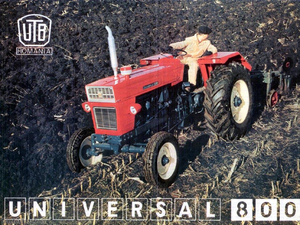 UTB 800 advertising photo.