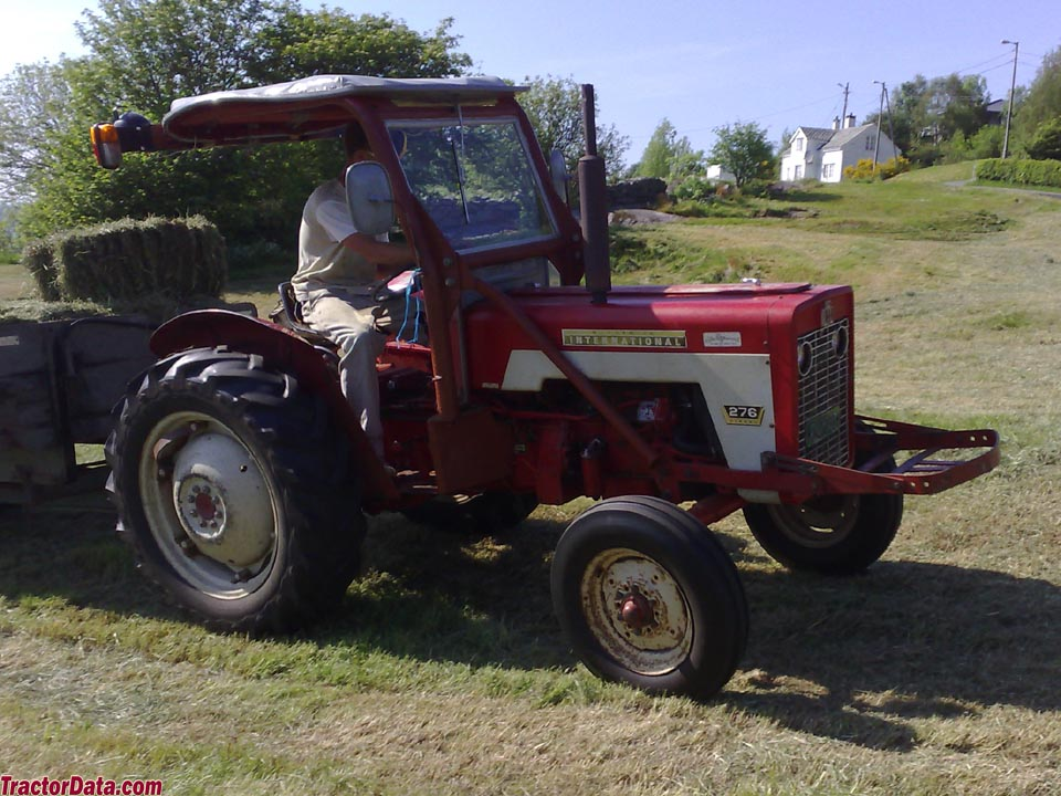 McCormick International 276 with canopy.