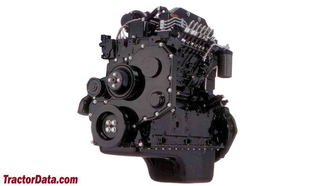 AGCO White 6710  engine photo