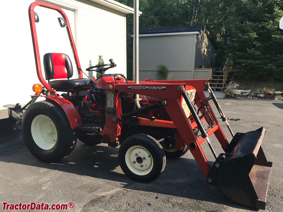 Yanmar YM140D with YFL-575 front-end loader.