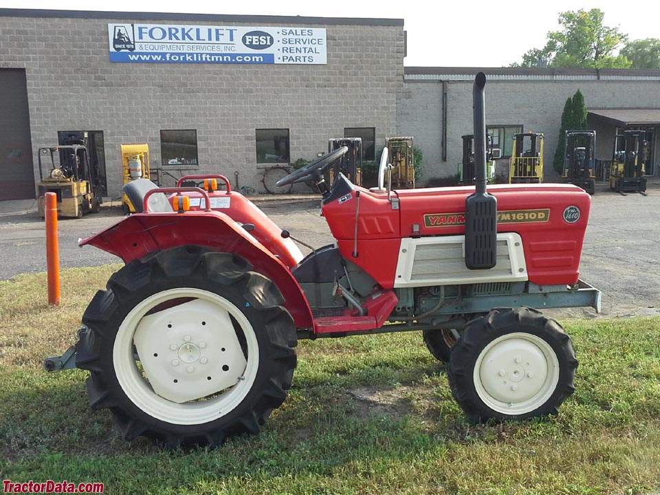 Yanmar YM1610D four-wheel drive tractor.