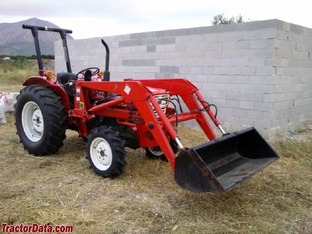 4WD Yanmar TM2610 with front-end loader.