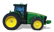 John Deere 8130 tractor photo