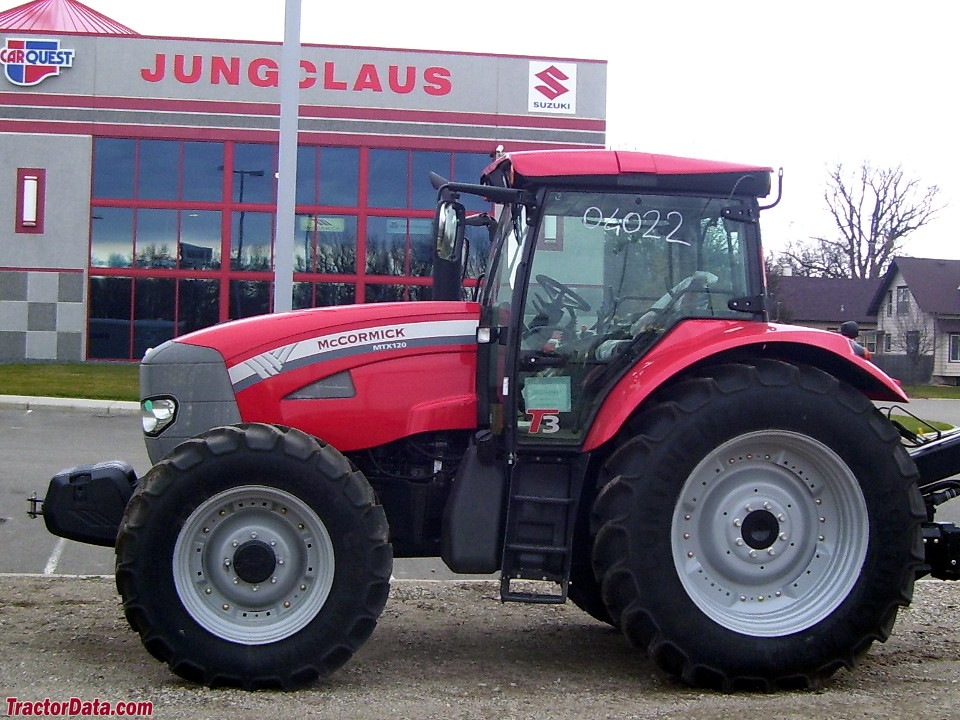 MTX 120 with four-wheel drive.