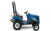 New Holland Boomer TZ24DA tractor photo